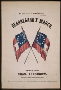 Beauregard's march (c1861; LOC: https://www.loc.gov/item/92504728/)