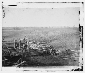 View of First Bull Run battlefield