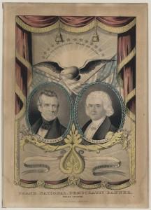 Grand National Democratic banner. Press onward (1844; LOC - LC-DIG-ppmsca-07682)