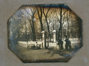 Entrance to Independence Square, Philadelphia (between 1840 and 1856; LOC - LC-USZC4-11119)