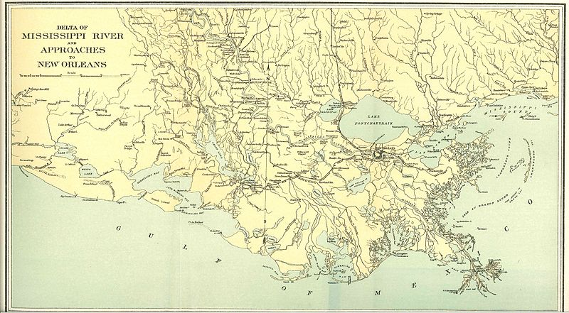 Mississippi River Delta Map http://www.bluegrayreview.com/2011/10/13/mosquitos-in-the-delta/