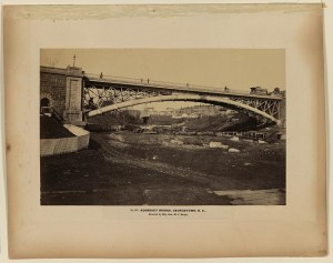 Aqueduct Bridge, Georgetown, D.C., erected by Maj. Gen. M.C. Meigs (between 1861 and 1865; LOC - LC-DIG-ppmsca-07281)
