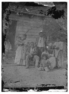 Beaufort, South Carolina. Negro family representing several generations. All born on the plantation of J.J. Smith (1862; LOC: LC-DIG-cwpb-00737)