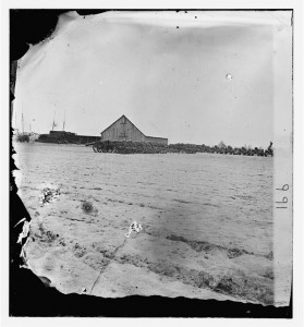 Hilton Head, South Carolina. Federal siege train (1861; LOC: LC-DIG-cwpb-00759)