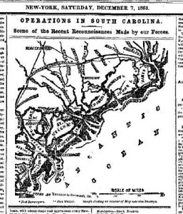 South Carolina Operations December 1861