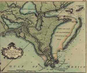 Lake_Borgne_de_la_Tour_map_1720