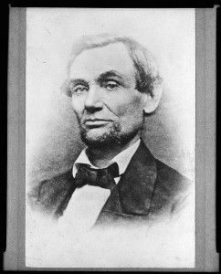 Abraham Lincoln: President-elect (1860 November 25, printed later; LOC: LC-USZ62-15984)