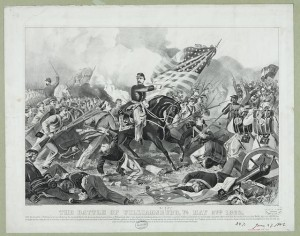 The Battle of Williamsburg, Va. May 5th 1862 (Currier & Ives, 1862; LC-DIG-pga-00615)LOC: