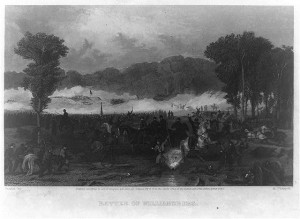 Battle of Williamsburg (c1863 by Alonzo Chappel; LOC: LC-USZ62-92942)