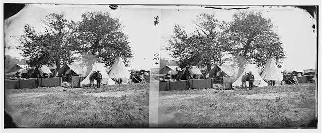 Richmond, Virginia (vicinity). Camp Lincoln (1862 June; LOC: LC-DIG-cwpb-00158)