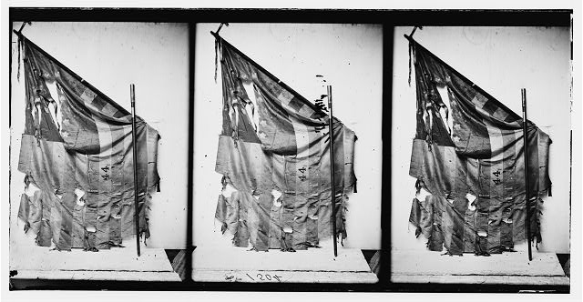 Flag of Regt., 44th N.Y. Inf. (between 1860 and 1870; LOC: LC-DIG-cwpb-04467)