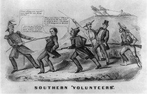 "Southern ""volunteers"" (Published by Currier & Ives, (1862?); LOC: LC-USZ62-9636)"