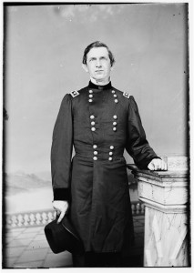 Portrait of Maj. Gen. Edward R. S. Canby, officer of the Federal Army (Between 1860 and 1865 by Theodore Lilienthal; LOC: LC-DIG-cwpb-07417)