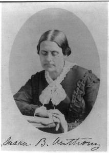 Susan B. Anthony (Sarony & Co., photographers, 680 Broadway, N.Y. [ca. 1870]; LOC: LC-USZ62-30742)