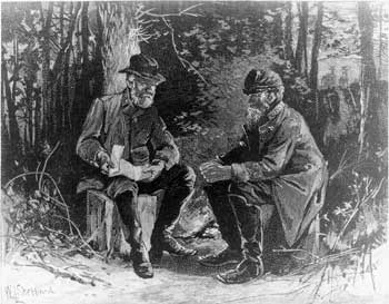 Lee-Jackson Meeting at Chancellorsville (NPS)