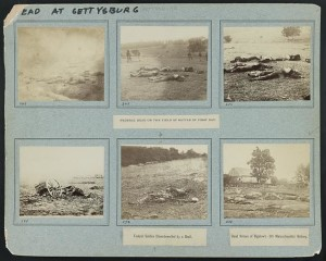 Federal dead on the field of battle of first day (1863; LOC:  LC-DIG-ppmsca-31298)