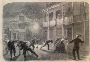 charleston-bombardment (Harper's Weekly, January 9, 1864)