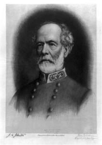 Joseph Eggleston Johnston, head-and-shoulders portrait, facing left (by Frederick Dielman, c.1896; LOC:  LC-USZ62-91813)