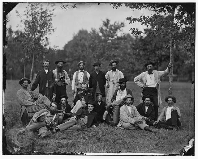 Scouts and guides, Army of the Potomac ( 1864 March; LOC: LC-DIG-cwpb-03656