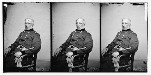 Portrait of Brig. Gen. James S. Wadsworth, officer of the Federal Army (between 1860 and 1864; LOC: LC-DIG-cwpb-04579)