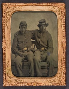 Two brothers in arms (between 1860 and 1870; LOC:  LC-DIG-ppmsca-13484)