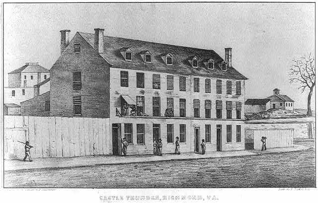 Castle Thunder, Richmond, Va (LOC: LC-USZ62-15997)