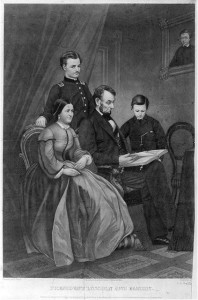 President Lincoln and family (c1865; LOC: LC-USZ62-17671)