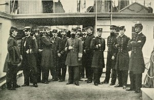 800px-DavidDixonPorter&Staff (The Photographic History of The Civil War in Ten Volumes: Volume Six, The Navies   . The Review of Reviews Co., New York. 1911. p. 257.)