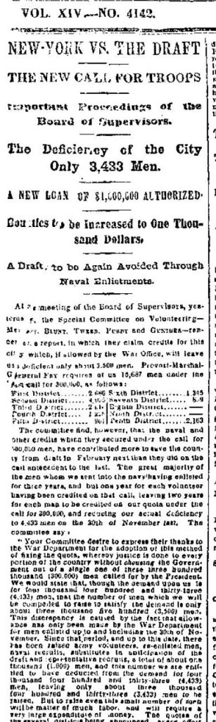 New York Times 1-1-1865