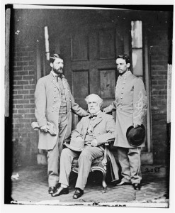 G.W.C. Lee, Robert E. Lee, Walter Taylor (between 1860 and 1870; LOC: LC-DIG-cwpb-06234)