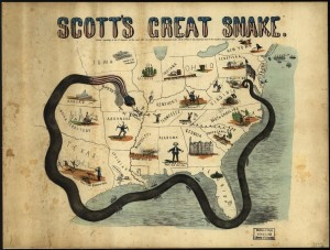 Anaconda 1861 (LOC: http://www.loc.gov/item/99447020/; Library of Congress, Geography and Map Division)