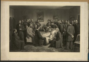 Death of Lincoln (By Alexander hay ritchie, c1875; LOC:  LC-DIG-pga-02496)
