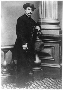 John Wilkes Booth ( LC-USZ62-25166)