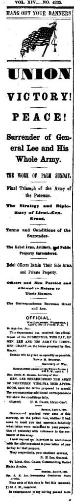 NY Times 4-10-1865