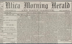 Utica Morning Herald & Daily Gazette 5-22-1863