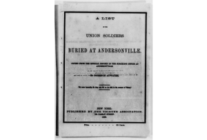 Andersonville List (Library of Congress)