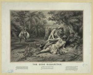 The good samaritan (c1880; LOC: http://www.loc.gov/item/2003671500/)