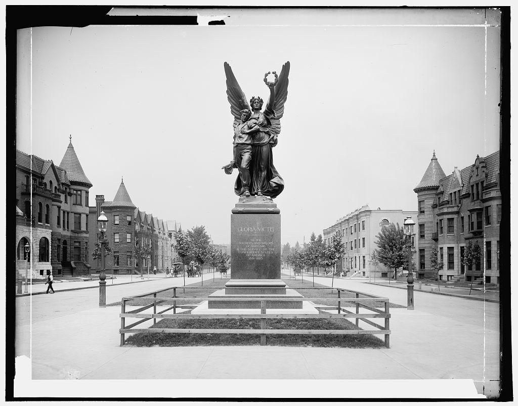 Confederate Monument, Baltimore, Md. (between 1900 and 1906; LOC: http://www.loc.gov/item/det1994000708/PP/)
