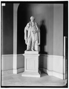 John A. Andrew statue, State House, Boston, Mass. (between 1900 and 1906; LOC: http://www.loc.gov/item/det1994009464/PP/)