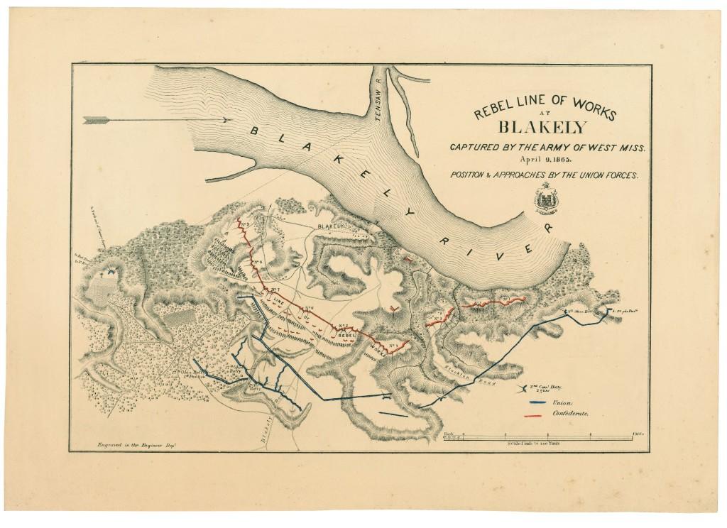 Fort Blakely 1865 (LOC: http://www.loc.gov/item/99447248/)