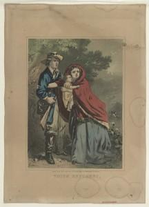 Union refugees / Baker. (1860-1870; LOC: http://www.loc.gov/item/90714047/)