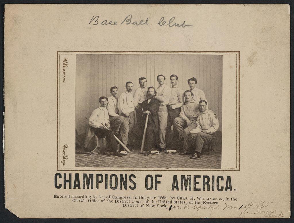 Champions of America / Williamson, Brooklyn. (1865; LOC: http://www.loc.gov/item/92514548/)