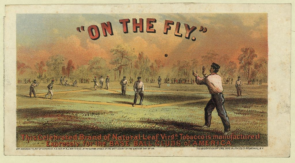 """""""On the fly"""" / The Major & Knapp Eng. Mfg. & Lith. Co., 71 Broadway, N.Y. (c.1867; LOC: http://www.loc.gov/item/94514611/)"""