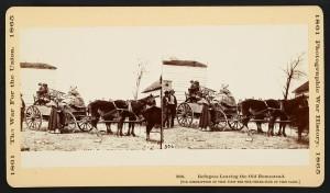 Refugees leaving the old homestead (LOC:http://www.loc.gov/item/2011660065/)