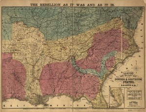 Lloyd's new military map of the border & southern states (April 1865; LOC: http://www.loc.gov/item/99447178/)
