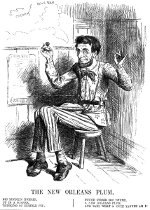Big Lincoln Horner (London Punch May 24, 1862; Project Gutenberg http://www.gutenberg.org/files/38056/38056-h/38056-h.htm#n134)