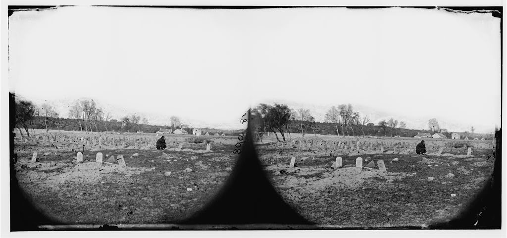 Richmond, Virginia (vicinity). Soldiers graves (1865 Apr.; LOC: http://www.loc.gov/item/cwp2003005686/PP/)