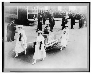Suffrage parade, NYC, Oct. 23, 1915  (LOC: http://www.loc.gov/item/2003675329/)