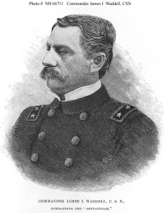 Commander James Iredell Waddell, CSN (US Navy: http://www.history.navy.mil/our-collections/photography/us-people/w/waddell-james-iredell/nh-66711.html)