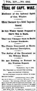 NY Times September 10, 1865
